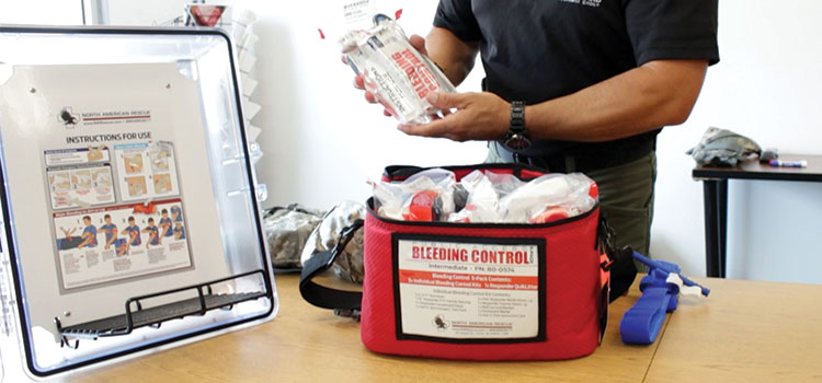 Civilian Casualty Care Bleed Control Kit